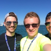 ETS Participants at Lake Michigan