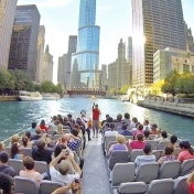 ETS on the Seadog Cruise Explores Chicago's Architecture