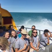 Cruising Lake Michigan on the Seadog