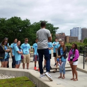 ETS Tours the University of Illinois-Chicago